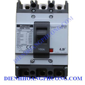 cầu dao điện 3P 100A 22kA – ABN103c